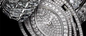 腕時計ダイヤモンドの文字盤
